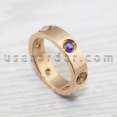 Cartier love bracelet replica design same as Cartier love ring,they are all popular in fashion,loved by man and woman. Cartier Love Ring, Cartier Love Bracelet, Bracelet Watch, Rings Online, Gemstone Colors, Pink And Gold, Buy Now, Valentines, Gemstones