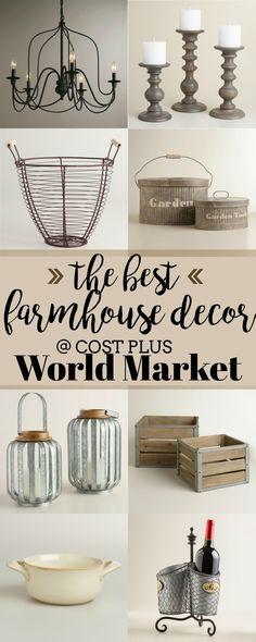 {The Best} Farmhouse Decor at Cost Plus World Market