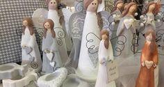 andělé, dekorace, domečky, keramické výrobky, Keramika, kočky, rozhovor, ruční výroba, srdíčka, srdíčky, svícny, vánoční inspirace | Elegantní bydlení