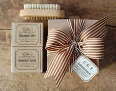 amazing packaging on this handmade soap gift set! etsy, $14