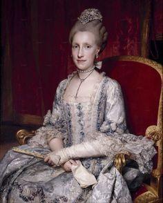 Anton Raphael Mengs (German, 1728–1779), Maria Luisa of Bourbon, Grand Duchess of Tuscany (1770), Oil on canvas, Museo Nacional del Prado.