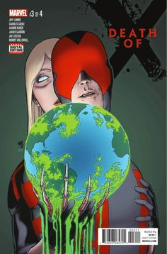 Death of X #3 I mean, the art is not good and we all know after whatever this is everything is going to shit but so far I'm liking it lol