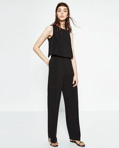 CREPE JUMPSUIT-JUMPSUITS-WOMAN-COLLECTION AW16 | ZARA United States