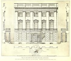 Residential building at Lincolns Inn Fields, London