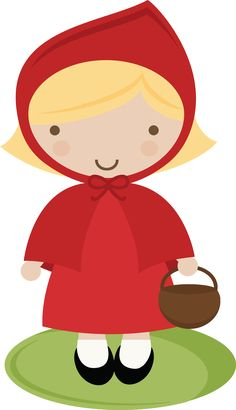 Little Red Riding Hood Template - ClipArt Best