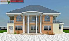 Row House Design, Bungalow House Design, Cool House Designs, Model House Plan, Dream House Plans, Exterior Paint Colors For House, Dream House Exterior, House Design Pictures, Modern Bungalow House