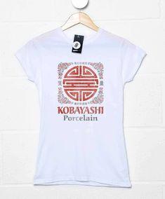 Kobayashi Porcelain Womens T Shirt - White / 16-18