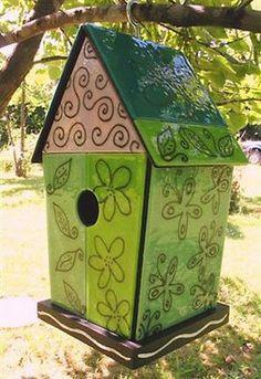 333 Ways: Painted Birdhouses