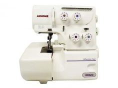 Black Friday Máquina de Costura Janome - Overlock 8002D de R$ 1.599,00 por R$ 1.299,00  em até 10x de R$ 129,90 sem juros no cartão de crédito  ou R$ 1.234,05 à vista