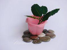 Impressions by Hatmaker S on Etsy Painted Rocks, Hand Painted, Rock Hand, Flower Pots, Flowers, Decorative Tile, Desk Accessories, Stone Painting, Planter Pots