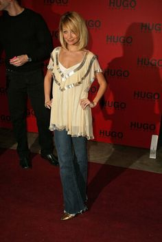 Nicole Richie wearing Willow top,  Hugo Boss Party in Hollywood May 15 2005