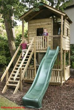 Tree House / Club House in Toys & Games, Outdoor Toys & Activities, Climbing Frames | eBay!
