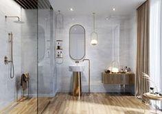 Galeria łazienek - zdjęcia, gotowe projekty - Domni.pl Oversized Mirror, Divider, Room, Furniture, Home Decor, Bedroom, Decoration Home, Room Decor, Rooms