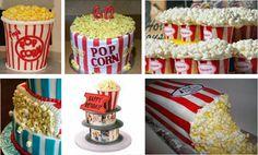 EAT MORE CAKE: Bolos Decorados - Pacote de pipocas