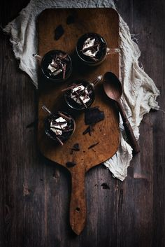Baileys Chocolate Panna Cotta with Coffee Kahlúa Jelly & Mascarpone via Call me Cupcake