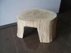 Oak stool coffee table  chair table wood Eiche Stuhl by DECORHOLZ