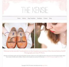 Responsive Photography Wordpress Theme - The Kensie Theme more on http://html5themes.org