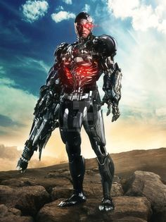 Ray Fisher as Victor Stone/Cyborg in Justice League Cyborg Dc Comics, Marvel Dc Comics, Cyborg Superman, Marvel Vs, Cyborg Superhero, Evil Superman, Marvel Wolverine, Batman Begins, Dc Movies