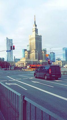 Odwiedzenie Warszawy