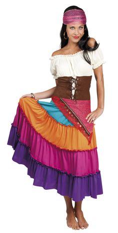 Costume Carmen la Gitane