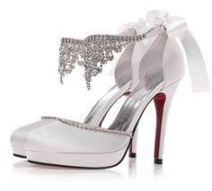 Fotos de zapatos para novias 2014   TODA MUJER ES BELLA