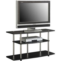 """Designs 2 Go TV Stand, for TVs up to 42"""" by Convenience Concepts, Multiple Colors - Walmart.com"""