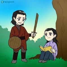 Elros& Elrond