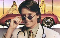 Doc Hollywood  A throwback to Forties-style stories has to be something special to make it in today's all-action, special effects-dominated film world. This nothing-much-happens number certainly isn't that. Michael J Fox is the brash city doctor headed for a career in plastic surgery, but sidelined into a small country town, Grady, en route. That's where he crashes his car, has to do 32 hours' community service as a doctor, and falls for the local ambulance driver (Julie Warner).