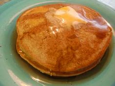 Chestnut Cinnamon Gluten Free Pancakes (Dairy Free and Egg Free)