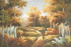 Landscape painting | Landscapes Gallery art for sale Modern Landscape Oil Paintings XYQ 266