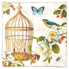 Birds In Bloom I Canvas Art Print | Kirkland's