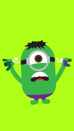 Incredible Hulk Minion ♡