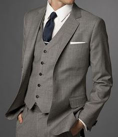 This is a very classy suit for a the groom or groosmen