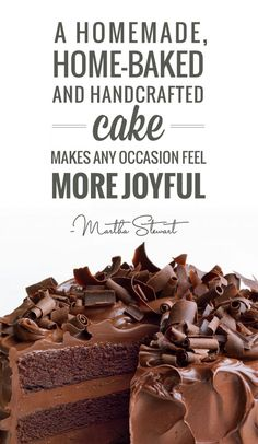 absolutely agree!  |  Talking Cakes with Martha Stewart |  Exclusive Interview & Recipe | TheCakeBlog.com