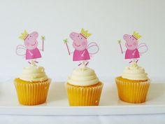 Divertida idea para aperitivo de una fiesta de cumpleaños de Peppa Pig. #Peppapig #fiestadecumpleaños