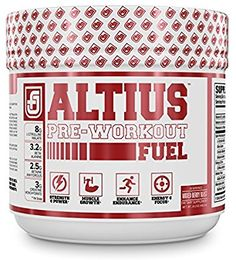 Amazon.com: ALTIUS Pre-Workout Supplement - Naturally Sweetened - Clinically Dosed Powerhouse Formulation - Increase Energy & Focus, Enhance Endurance - Boost Strength, Pumps, & Performance - Mixed Berry Blast (14.3 OZ): Health & Personal Care
