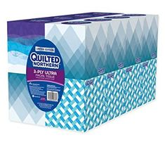 Premium two-ply facial tissue is soft and absorbent. Number of Plies: Number of Sheets: 96 per box; Tissue Types, Media Design, 6 Packs, Facial Tissue, Cube, Jokes, Packing, Personalized Items, Ford