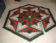 quilted christmas tree skirt - Bing Images