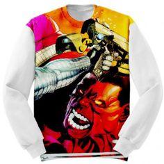 Red Hulk Winter Soldier Custom Sweatshirt