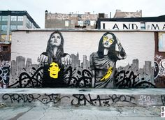 by Christina Angelina aka StarFighter & Fin Dac (in NYC)