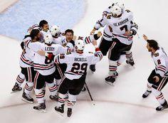 Bruins vs. Blackhawks - 06/24/2013 - Team photo's are my favourite! <3