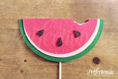 Watermelon Photo-Booth Prop | Summer Photo-Booth Props | Stiff FELT and Soft FELT | Summer Party Props
