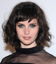 100 Short Hairstyles for Women 2014:   #FelicityJones