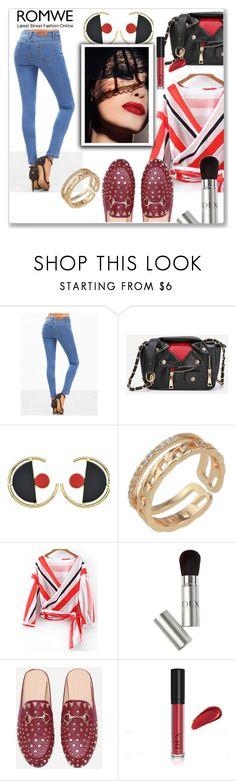 """""""ROMWE 5 / VI"""" by selmamehic ❤ liked on Polyvore featuring Lenox"""