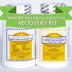 Prescription Drug Addiction Recovery Kit - Bundle - 2 Items: Addiction Buster Craving Aid and Addiction Buster #2 - Natural Herbal Prescription Drug Addiction Treatment for Addiction to Painkillers, Pain Pills, Anxiety Pills, Nerve Pills, Prescription Drugs (Xanax, Ativan, Klonopin, Valium) by Addiction Buster. $59.95. No prescription needed. Addiction therapy and remedy can be taken in the privacy of your own home. 30 day money back guarantee physician formulated herbal addictio...
