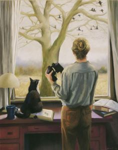 Watching Birds by Deborah Dewit
