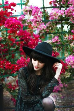 New Darlings-Free People hat// photo by TellTheBirds photography New Darlings, How To Pose, Senior Girls, Senior Photography, Spring Colors, Fashion Pictures, Spring Fashion, Style Inspiration, My Style