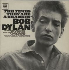 Bob Dylan, The Times They Are A-Changin' - 1st - EX, UK, Deleted, vinyl LP album (LP record), CBS, BPG62251, 105165