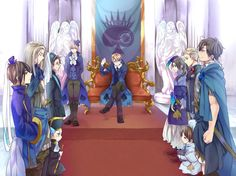 Spade Family so awesome :D hetalia cardverse