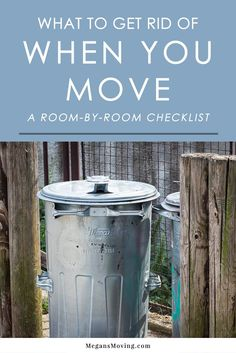 The first step when it's time to move is to get rid of anything you no longer want or need. Follow this room-by-room checklist to help you declutter your home before moving!